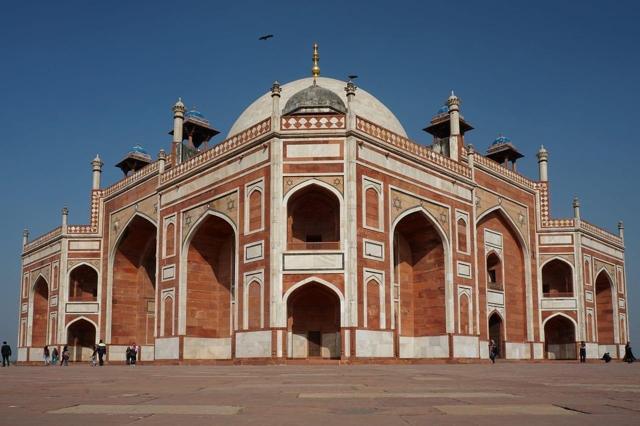 Delhi Arquitectura De Viaje India