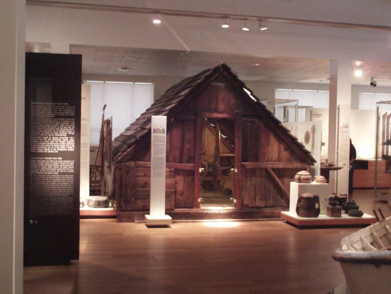 Dentro del Museo Nacional Reykjanes Islandia
