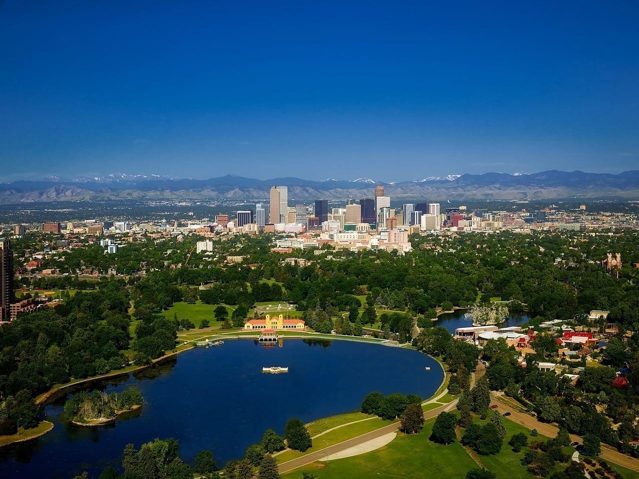 Denver Colorado Montañas Estados Unidos
