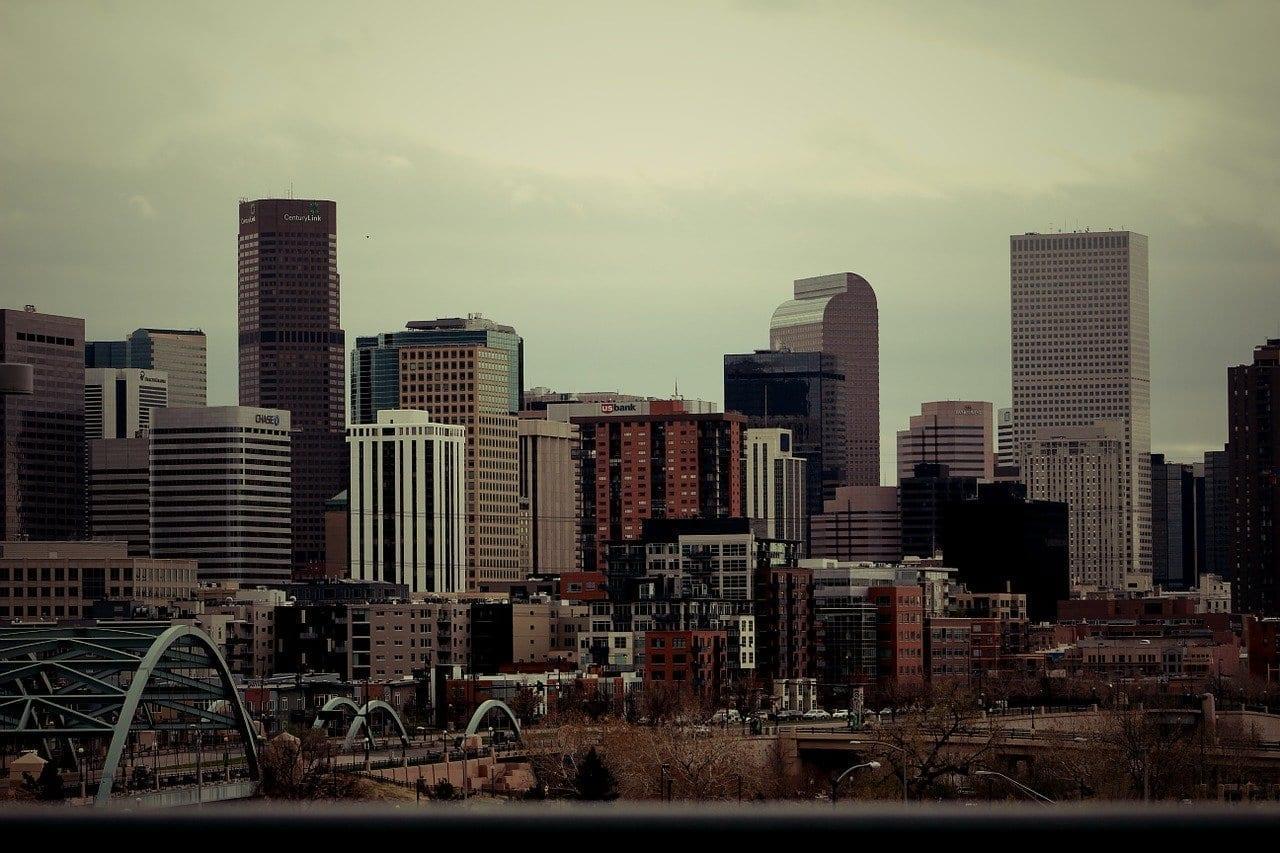 Denver Horizonte Ciudad Estados Unidos