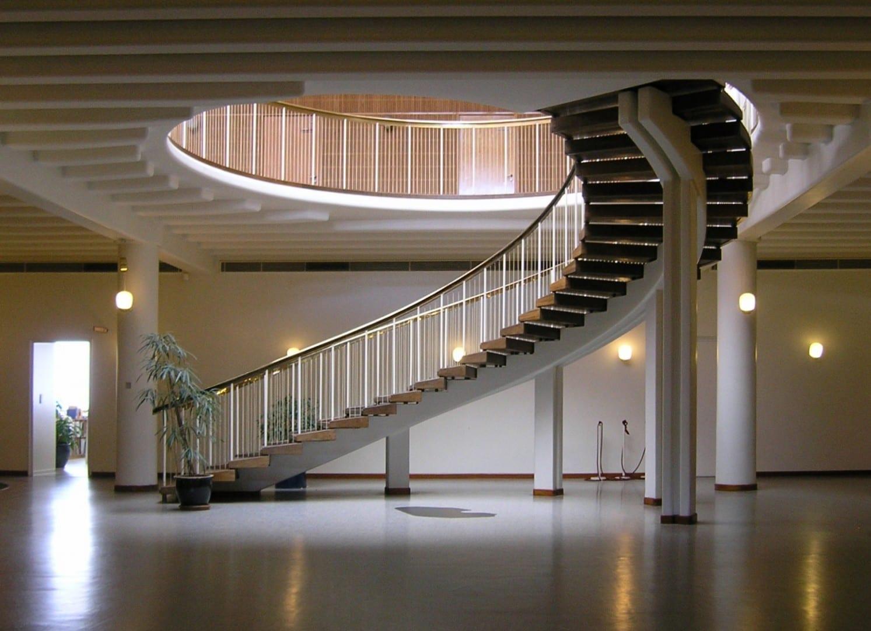 Detalle del interior del Ayuntamiento de Aarhus Aarhus Dinamarca