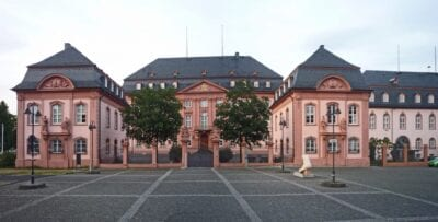 Deutschhaus, hoy la Casa del Parlamento de Renania-Palatinado Maguncia Alemania