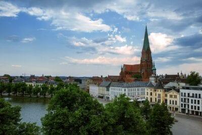 Dom Schwerin Mecklemburgo Pomerania Occidental Alemania