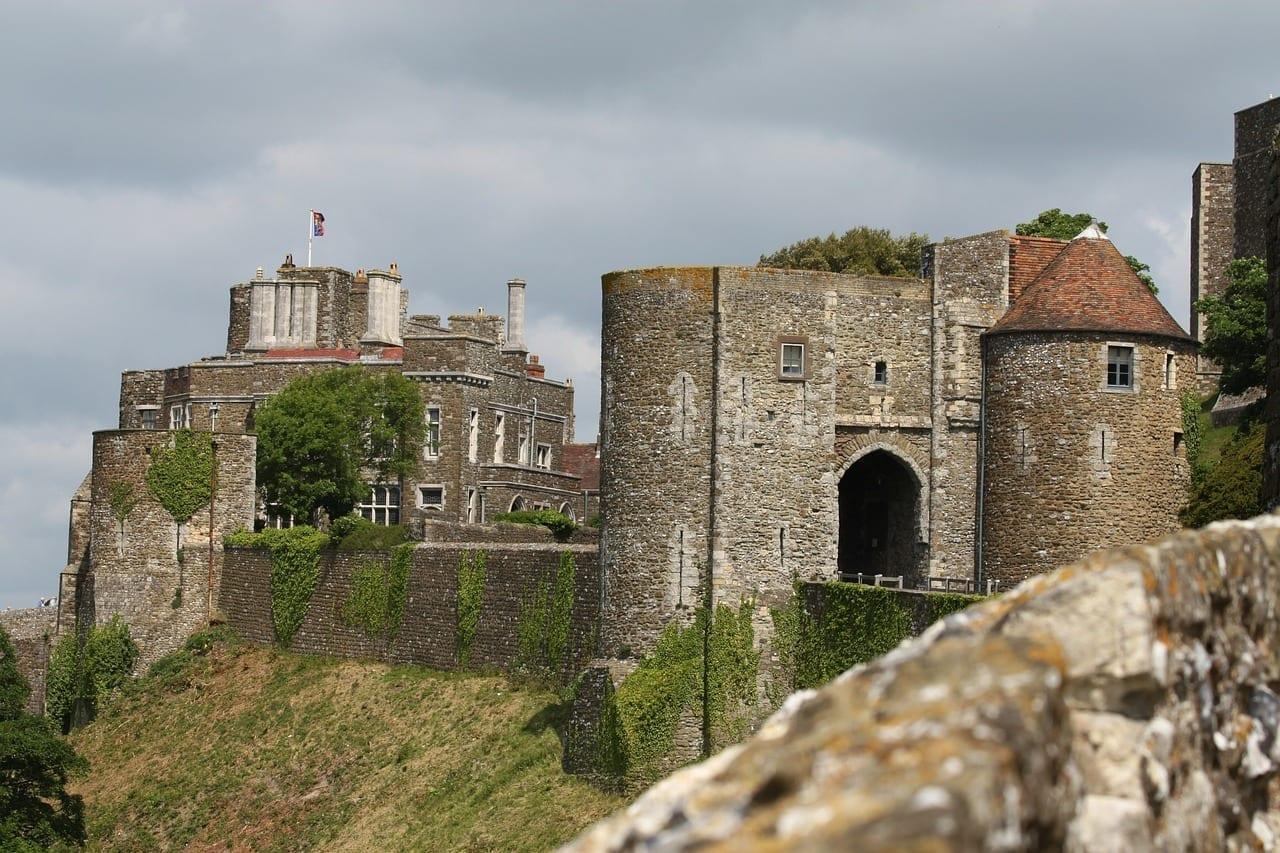Dover Castillo De Dover Puerto Dover Reino Unido