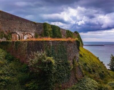 Dover Cliff Británico Reino Unido