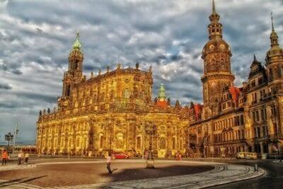 Dresden Alemania Edificios Alemania