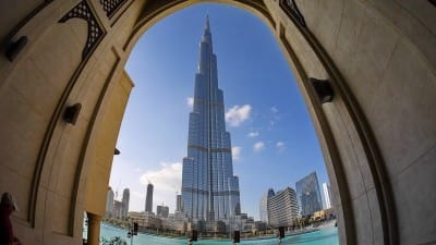 Dubai Desierto Burj Kalifa Emiratos Árabes Unidos
