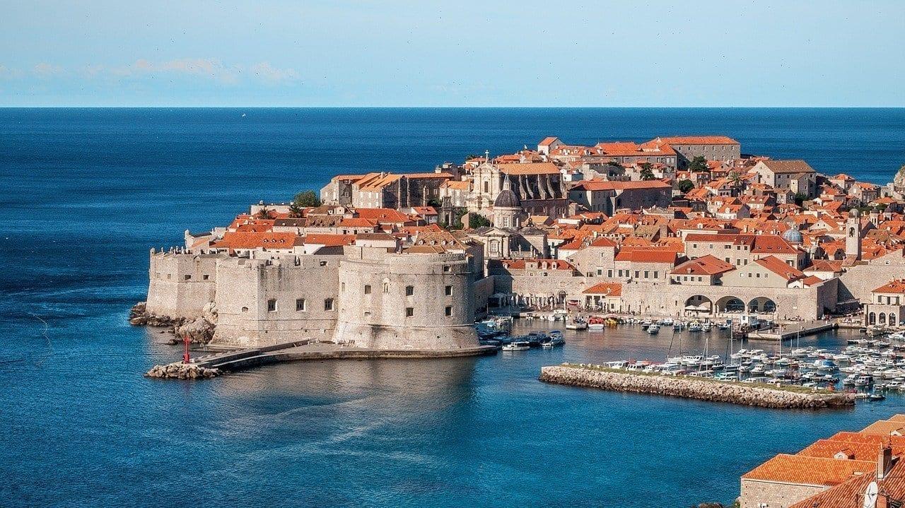 Dubrovnik Croacia Reyes De Aterrizaje Croacia
