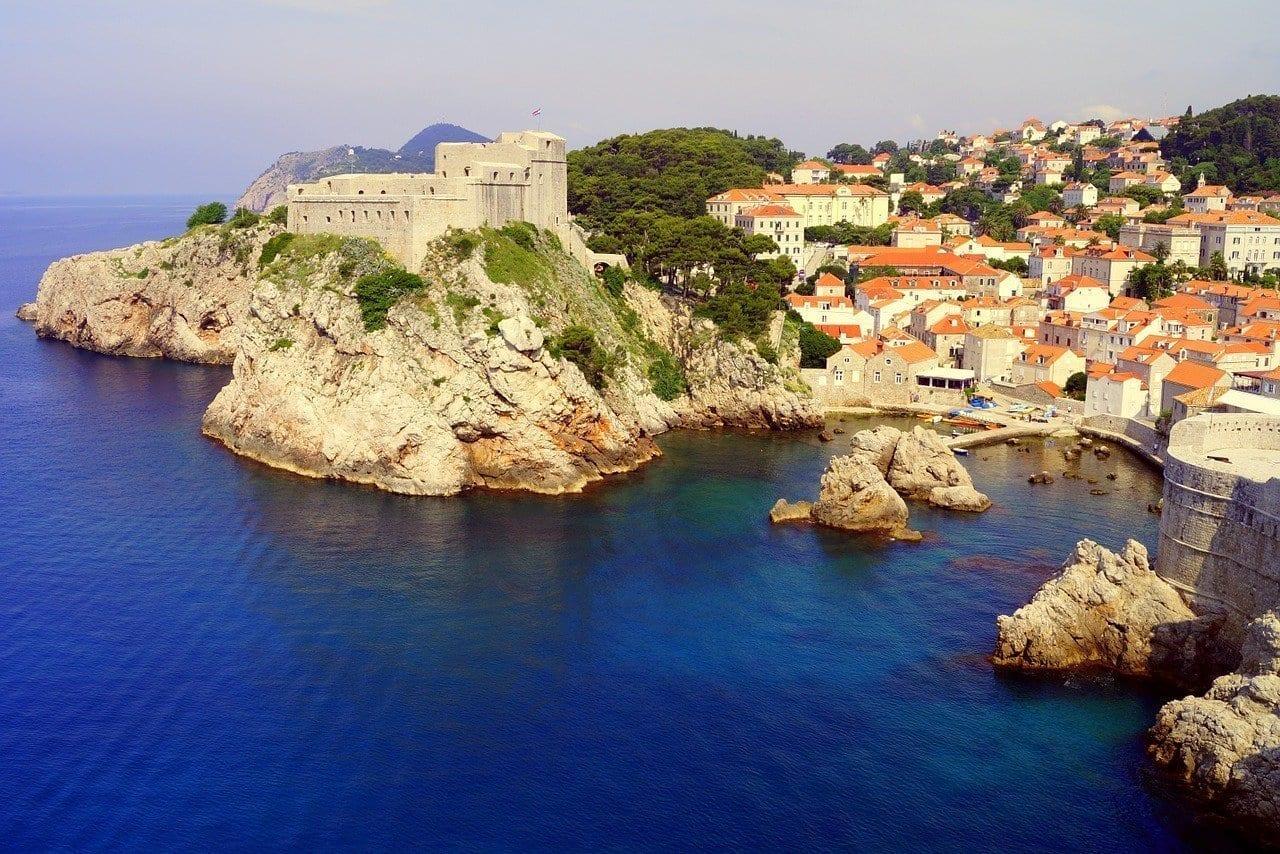 Dubrovnik Mar Croacia Croacia