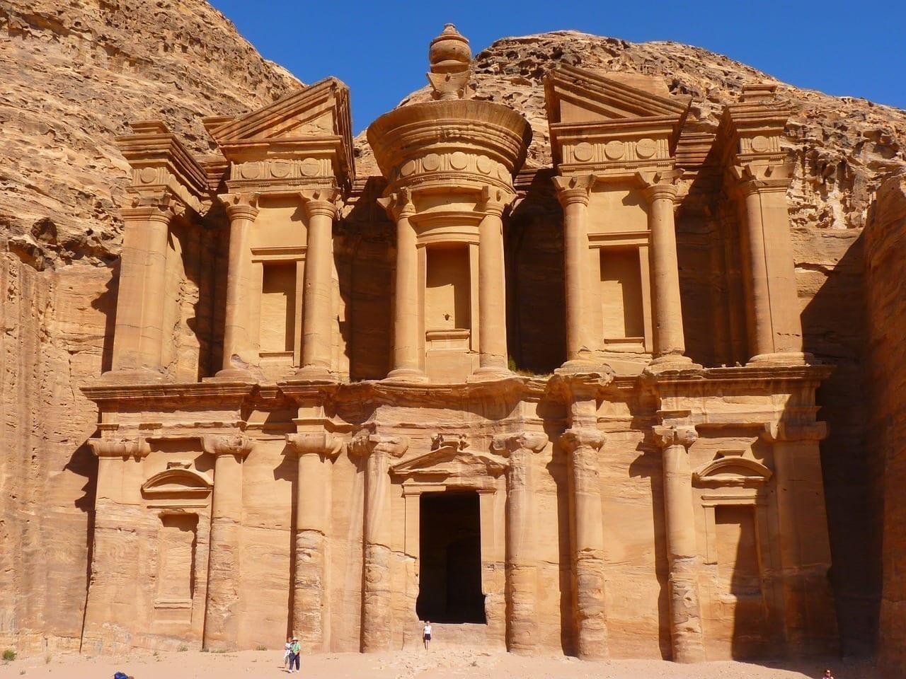 Ed Deir Monasterio Petra Jordania
