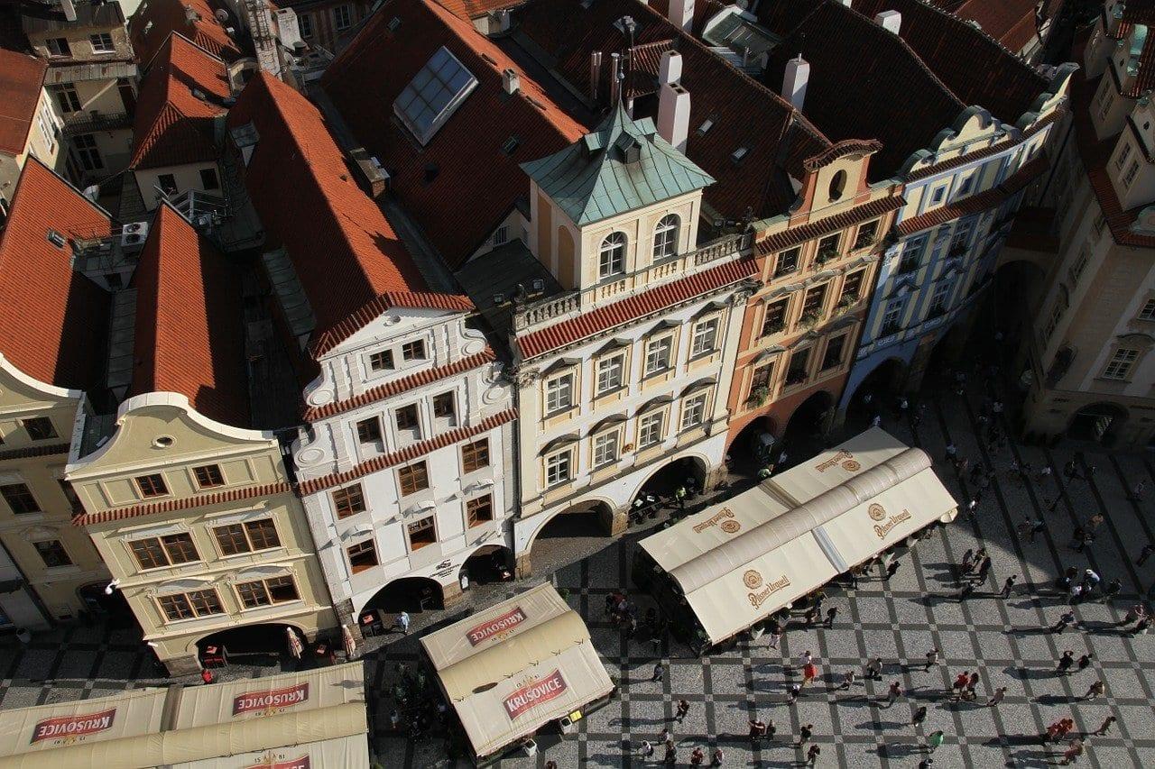 Edificios Praga Checa República Checa