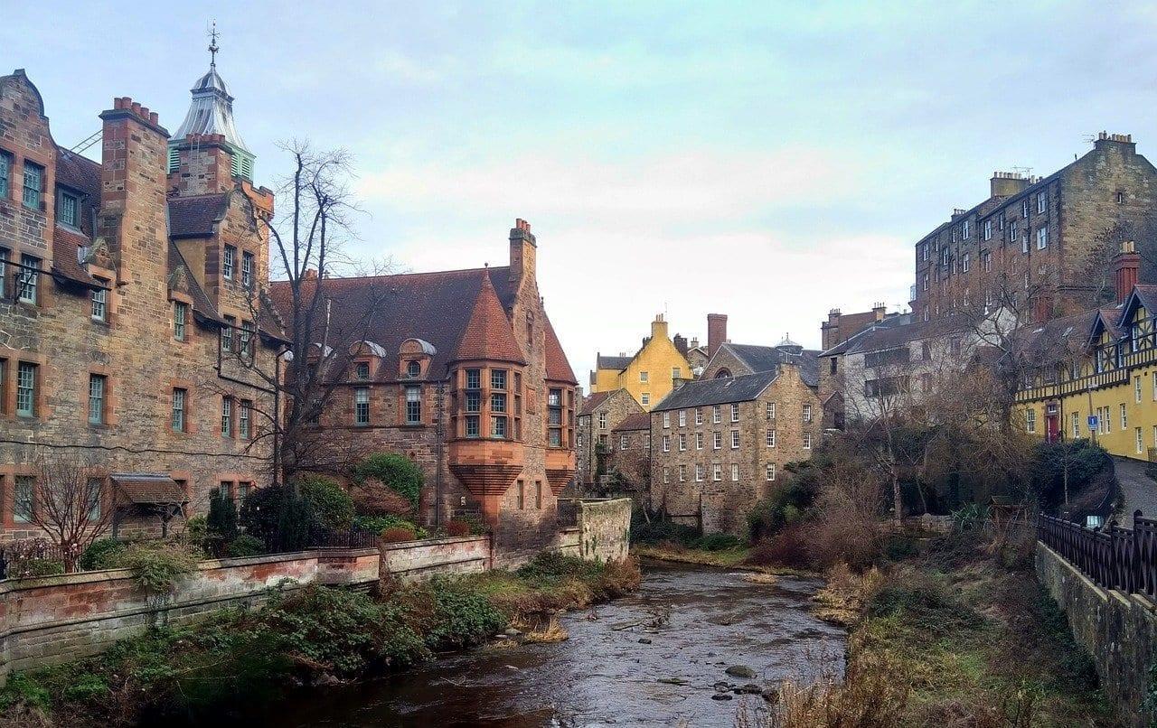 Edimburgo Escocia Inglaterra Reino Unido