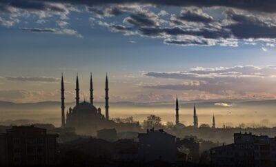 Edirne Mezquita Arquitectura Turquía