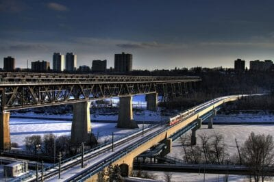 Edmonton Canadá Puente Canadá