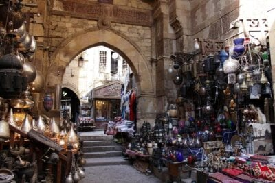 Egipto El Cairo Bazar Egipto