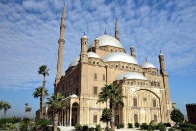 Egipto El Cairo Mezquita De Mohamed Alí Egipto