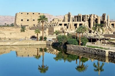 Egipto Luxor Templo De Karnak Egipto
