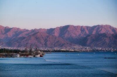 Eilat Montañas Mar Israel