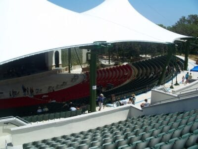 El Anfiteatro es uno de los lugares más rentables de su tamaño en el país. St. Augustine FL Estados Unidos