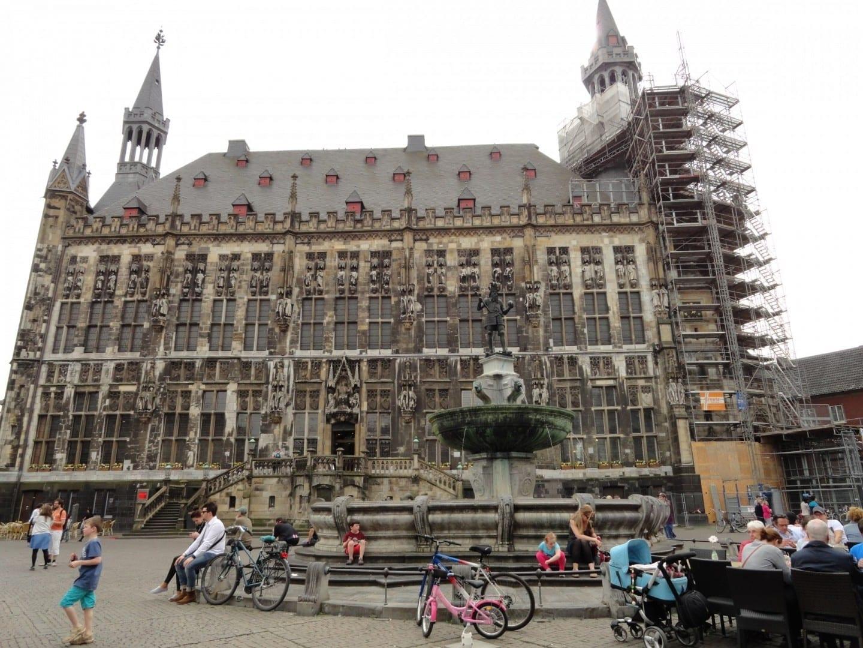 El ayuntamiento de Aquisgrán Aquisgrán Alemania