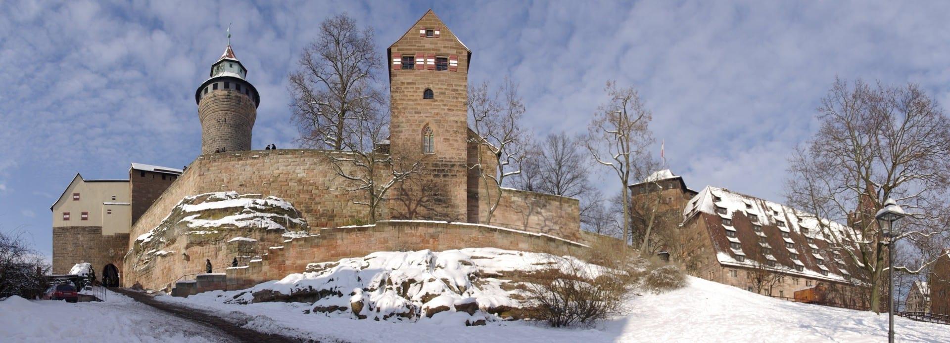 El castillo con la