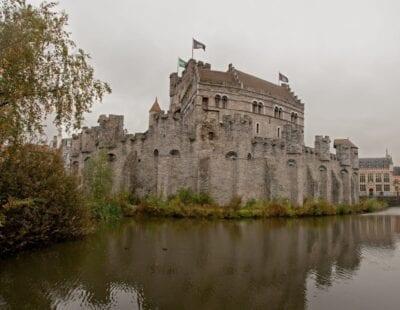 El Castillo de los Condes Gante Bélgica