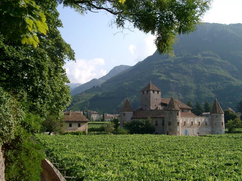 El castillo de Maretsch Bolzano Italia