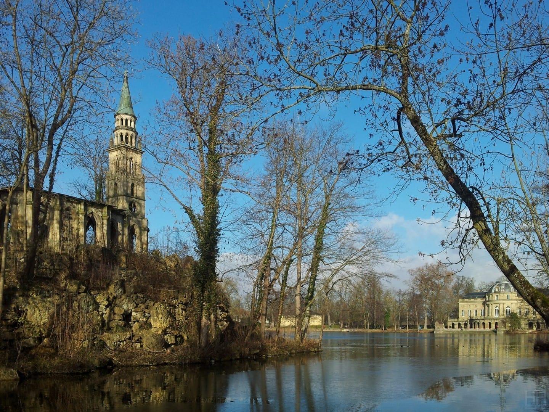 El Castillo de Monrepos Luisburgo Alemania