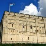 El castillo de Norwich Norwich Reino Unido