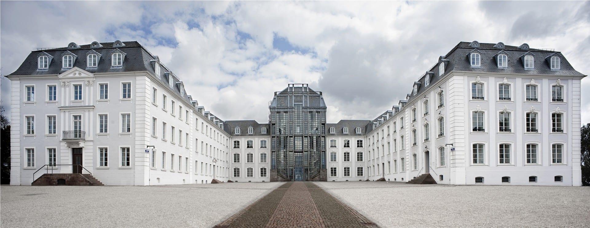 El castillo de Saarbrücken Sarrebruck Alemania