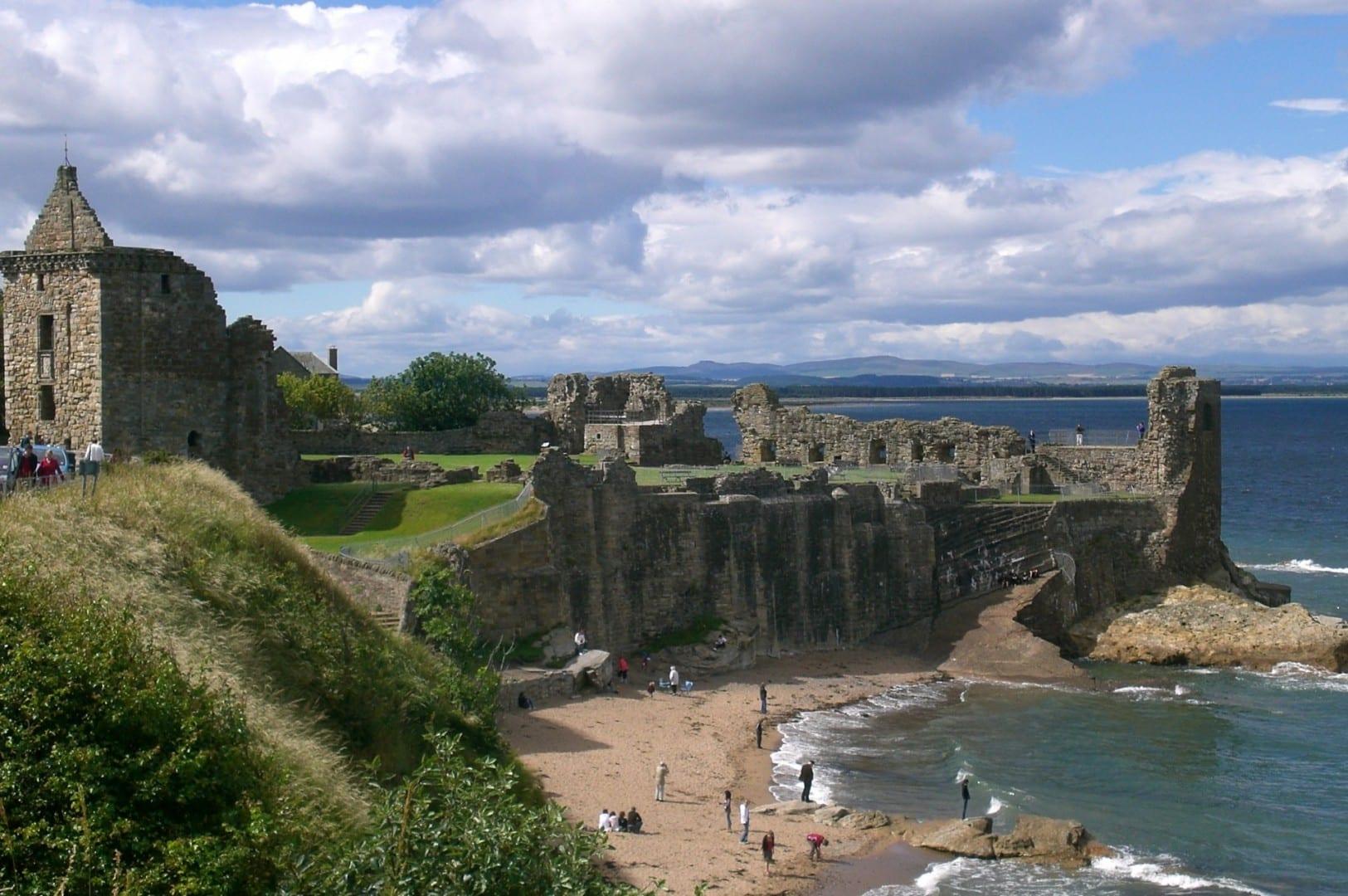 El castillo de St Andrews Saint Andrews Reino Unido