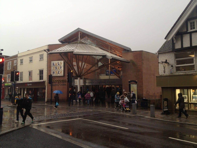 El centro comercial Maidstone Maidstone Reino Unido