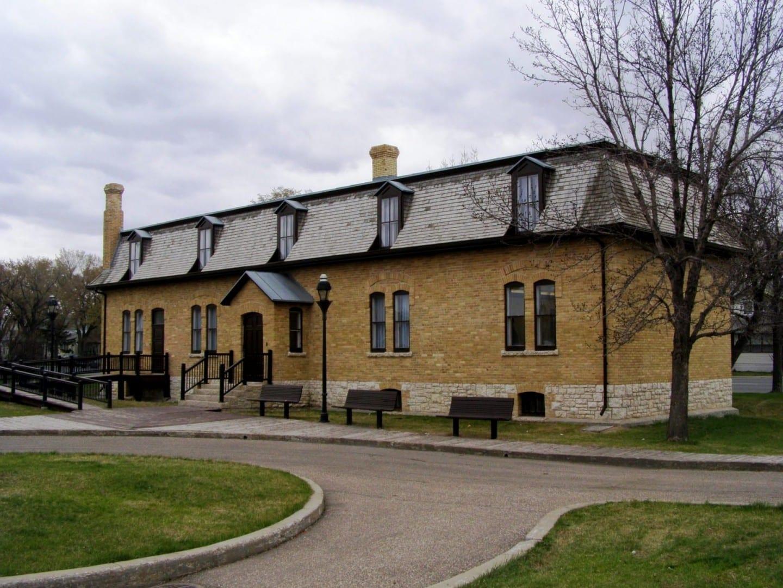 El Edificio de Administración Territorial, que una vez albergó la administración de los Territorios del Noroeste Regina Canadá