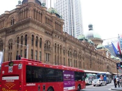 El Edificio de la Reina Victoria (el QVB) es un excelente ejemplo de la influencia colonial británica en la arquitectura australiana Sídney Australia