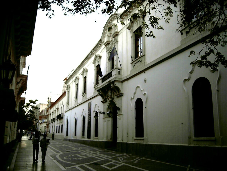 El edificio original de la administración de la universidad, parte del patrimonio de la humanidad Cordoba Argentina