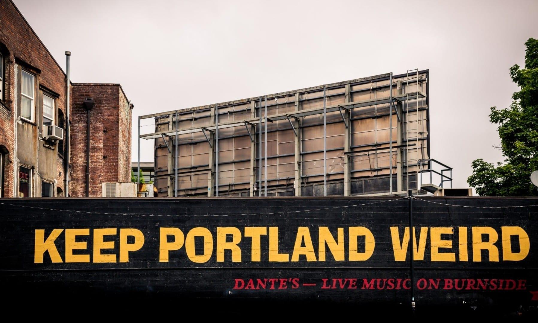El eslogan no oficial de Portland es