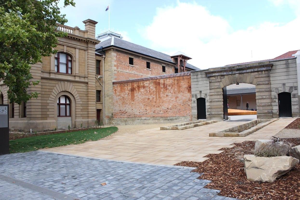 El exterior de estilo colonial de TMAG Hobart Australia