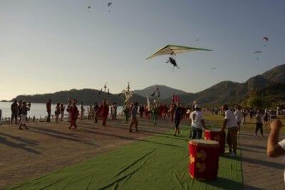 el festival Ölüdeniz Oludeniz Turquía