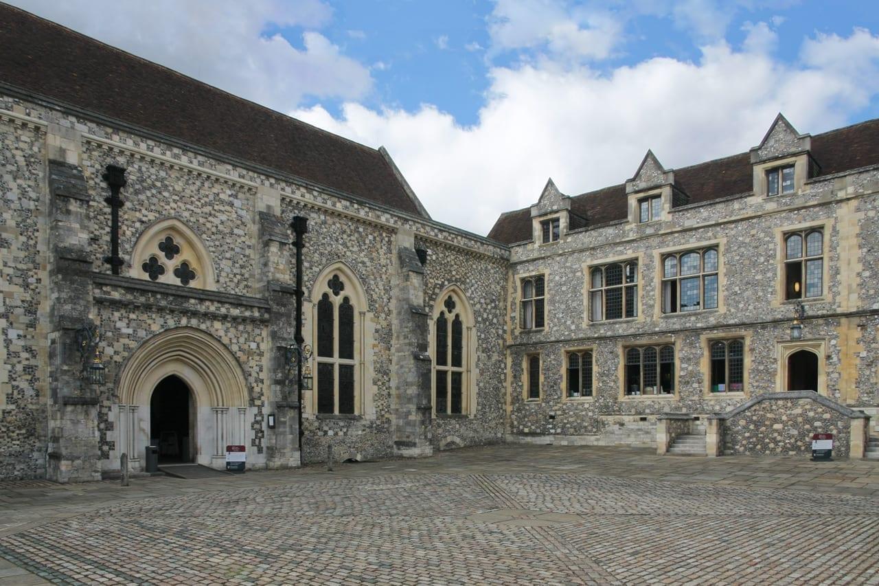 El Gran Salón del Castillo de Winchester Winchester Reino Unido