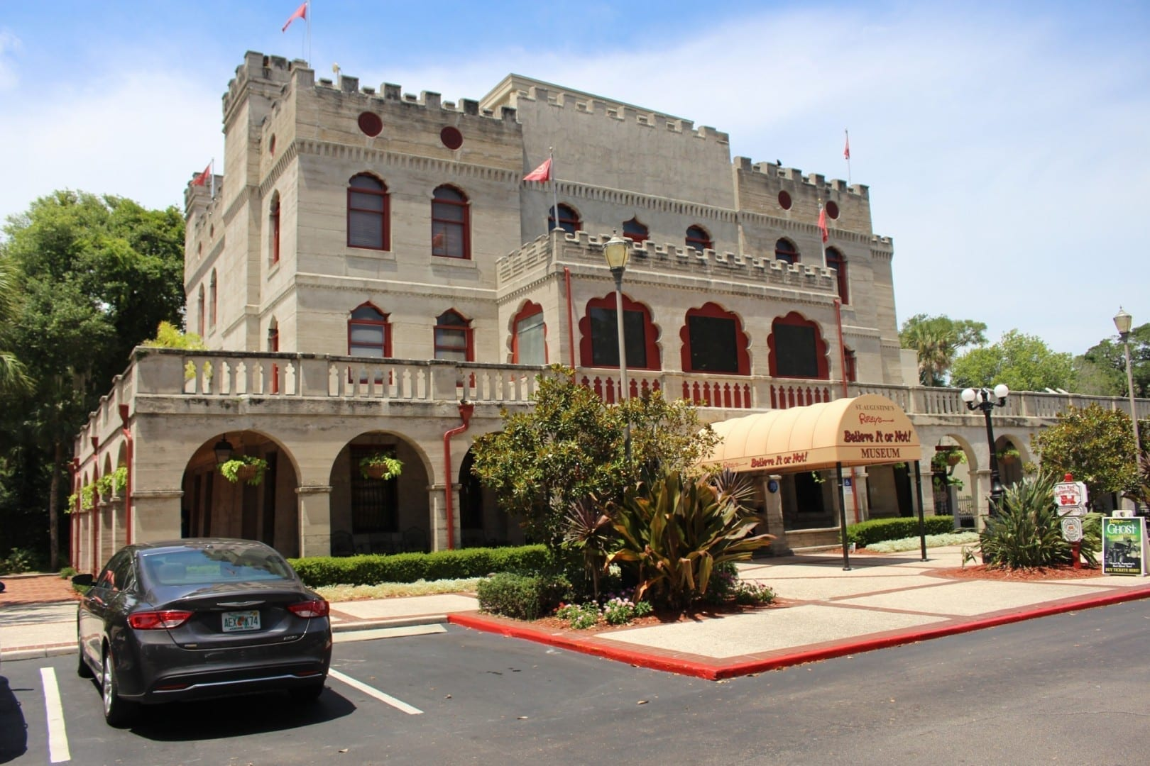 El grandioso Odditorium original de Ripley. Saint Augustine FL Estados Unidos