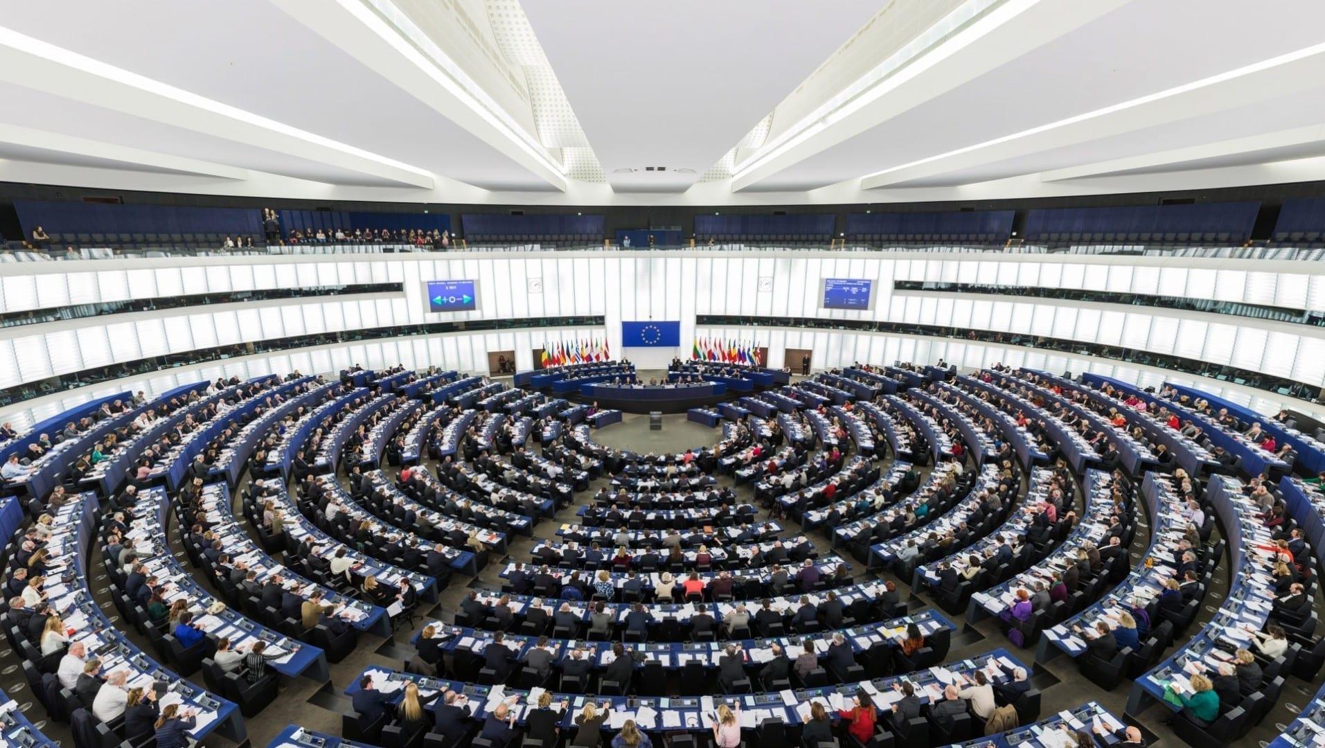 El Hemiciclo del Parlamento Europeo Estrasburgo Francia