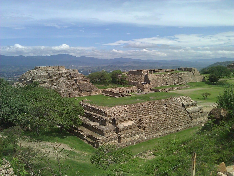 El hermoso Monte Albán Oaxaca México