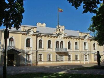 El histórico Palacio Presidencial Kaunas Lituania