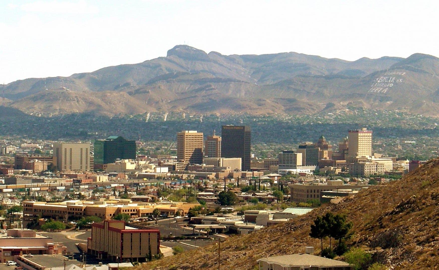 El horizonte de El Paso El Paso (Texas) Estados Unidos