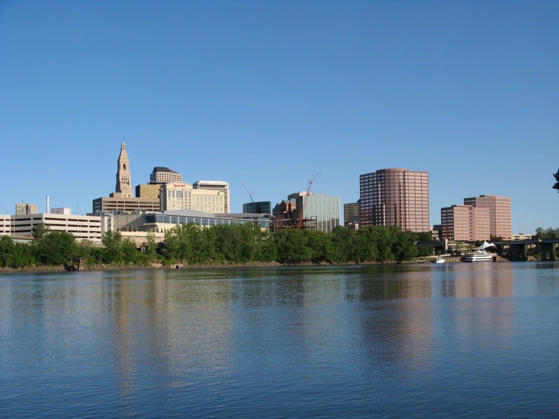 El horizonte de Hartford Hartford CT Estados Unidos