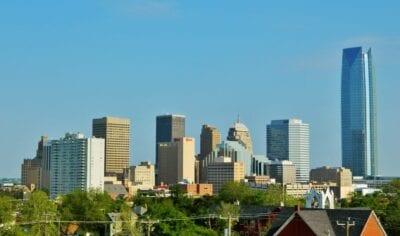 El horizonte de la ciudad de Oklahoma Ciudad de Oklahoma Estados Unidos