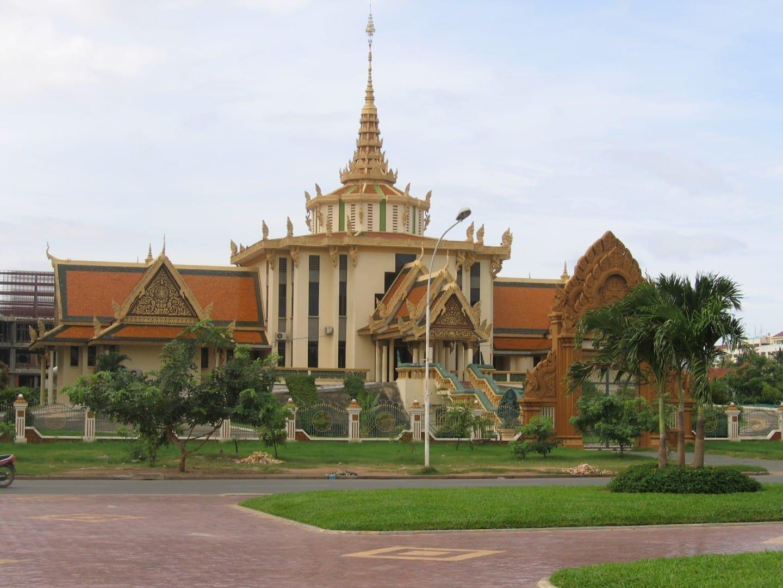 El Instituto Budista de Phnom Penh Pnhom Penh Camboya
