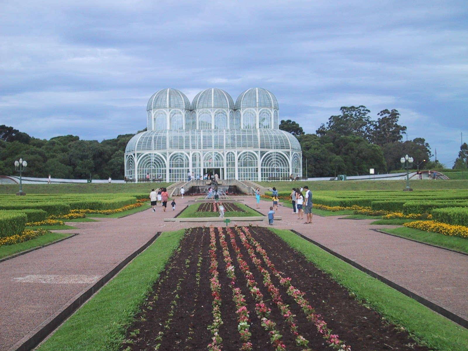 El jardín botánico de Curitiba, Brasil Curitiba Brasil