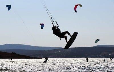 El Kitesurf Alacati Izmir Turquía