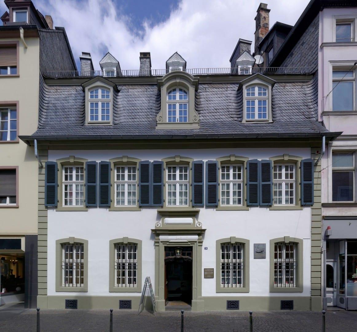 El lugar de nacimiento de Karl Marx, un edificio barroco construido en 1727 y que ahora contiene un museo de Marx y el Marxismo Tréveris Alemania